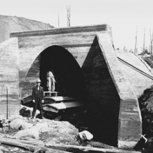 Mission Creek Culvert 1910