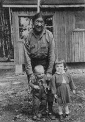 Grandma Tempest with Bob and Barbara