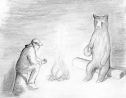 Man and Bear